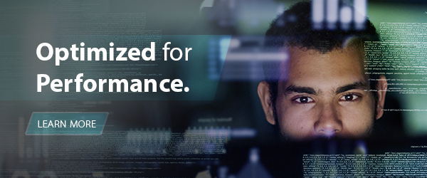 Optimized for Performance - learn more